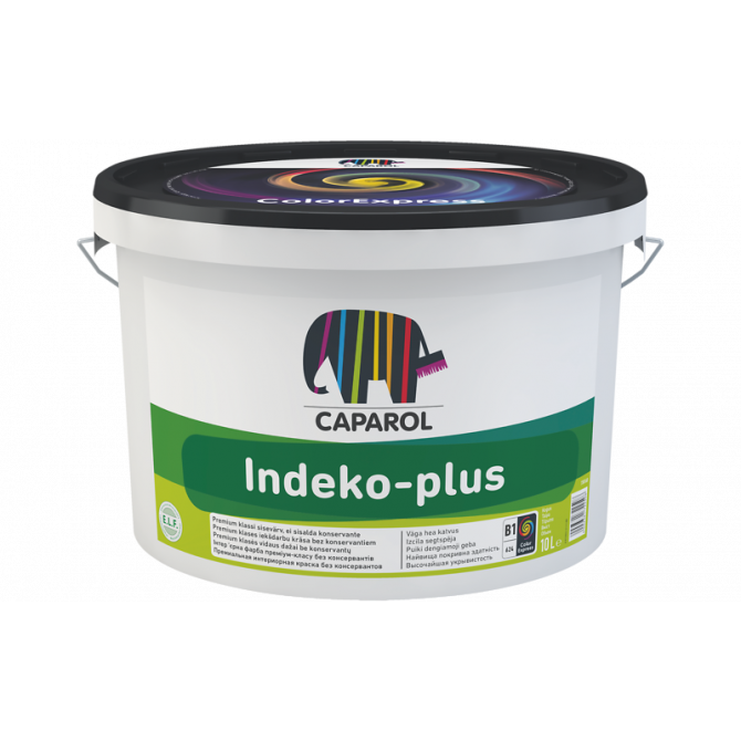 Caparol Indeko-plus B1 краска 10 л