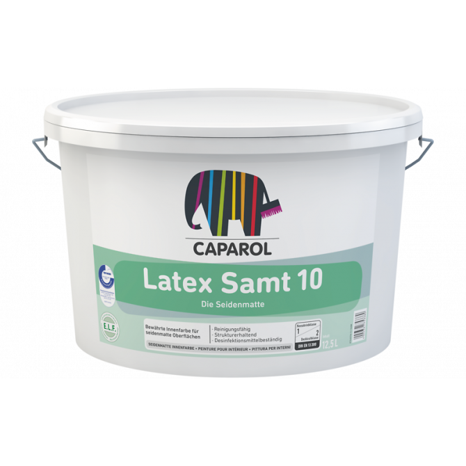 Caparol Latex Samt 10 B1 краска 12,5 л