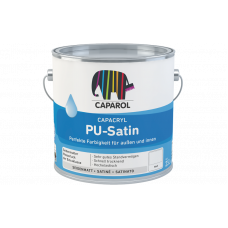 Caparol Capacryl PU-Satin Base T-Transparent Прозрачная эмаль 0,7 л