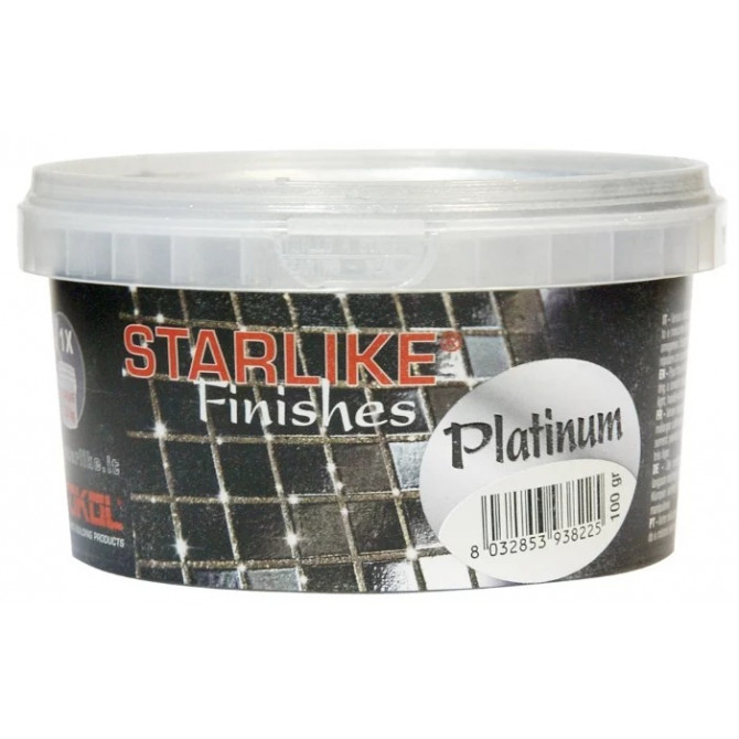 Litokol Metallic Collection Platinum 200 гр