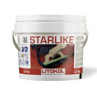 Litokol STARLIKE Glamour Collection С.360 баклажан 2,5 кг