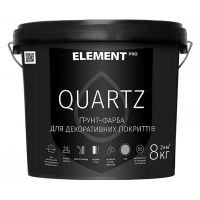 Element PRO Quartz, грунтовка структурная, 25KG (белая)