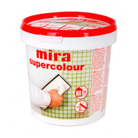 Mira supercolour затирка для швов 1,2 кг асфальт 121